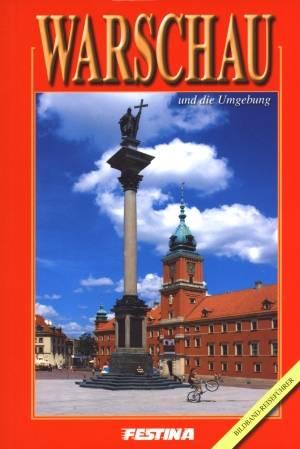 Warszawa i okolice. Album, przewodnik - okładka książki