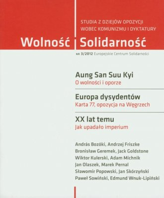 Wolność i Solidarność 3/2012. Studia - okładka książki