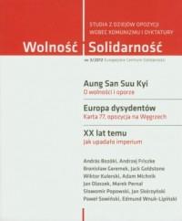 Wolność i Solidarność 3/2012. Studia z dziejów opozycji wobec komunizmu i dyktatury - okładka książki