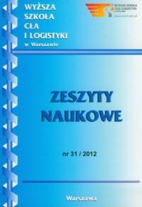 Zeszyty naukowe WSCiL. Nr 31/2012 - okładka książki