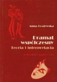 Dramat współczesny. Teoria i interpretacja - okładka książki