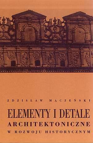 Elementy i detale architektoniczne - zdjęcie reprintu, mapy