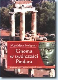 Gnoma w twórczości Pindara - okładka książki