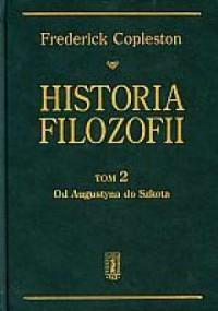 Historia filozofii. Tom 2. Od Augustyna do Szkota - okładka książki