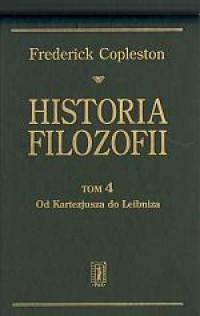 Historia filozofii. Tom 4. Od Kartezjusza do Leibnitza - okładka książki