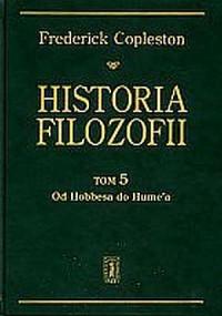 Historia filozofii. Tom 5. Od Hobbesa do Hume a - okładka książki