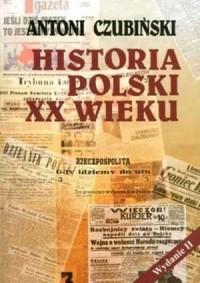 Historia Polski XX wieku - okładka książki