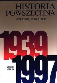 Historia powszechna 1939-1997 - okładka książki