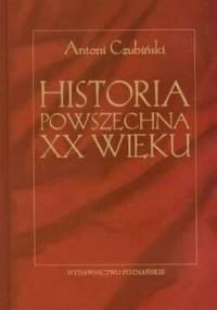 Historia powszechna XX wieku - okładka książki