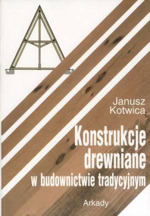 Konstrukcje drewniane w budownictwie - okładka książki