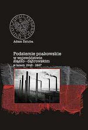 Podziemie poakowskie w województwie - okładka książki