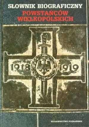 Słownik biograficzny powstańców - okładka książki
