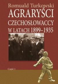 Agraryści czechosłowaccy w latach - okładka książki