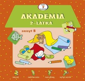 Akademia 2-latka. Zeszyt B - okładka podręcznika