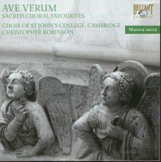Ave Verum (CD) - okładka płyty
