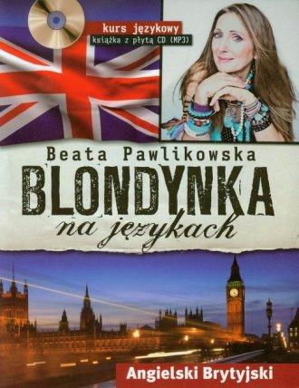 Blondynka na językach. Angielski - okładka podręcznika