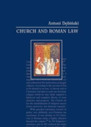 Church and Roman Law - okładka książki