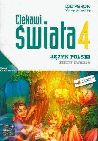 Ciekawi świata. Język polski. Klasa - okładka podręcznika