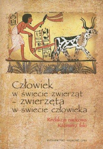 Człowiek w świecie zwierząt - zwierzęta - okładka książki