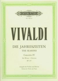 Die Jahreszeiten Concerto IV Der Winter - okładka książki