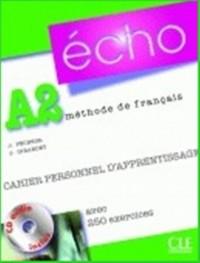 Echo a2. Ćwiczenia (+ cd) - okładka podręcznika