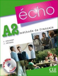 Echo A2. Podręcznik (+ DVD) - okładka podręcznika