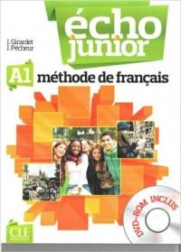 Echo Junior A1. Podręcznik (+ DVD) - okładka podręcznika
