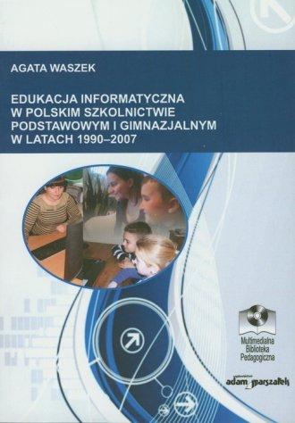 Edukacja informatyczna w polskim - okładka książki