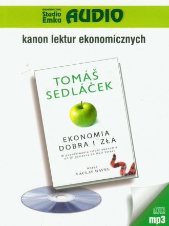Ekonomia dobra i zła - pudełko audiobooku