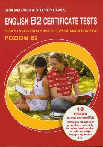 English B2 Certificate tests (+ - okładka podręcznika