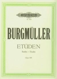 Etuden Opus 109 - okładka książki