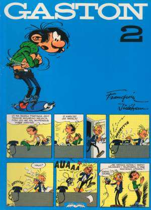 Gaston 2 - okładka książki