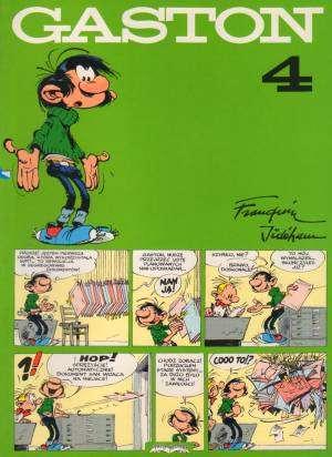 Gaston 4 - okładka książki