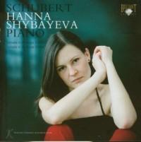 Hanna Shybayeva - Schubert: Sonata in A major Sonata in A minor (CD) - okładka płyty