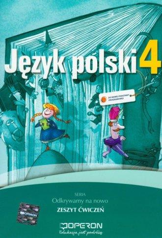 Język polski. Klasa 4. Szkoła podstawowa. - okładka podręcznika