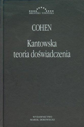 Kantowska teoria doświadczenia. - okładka książki