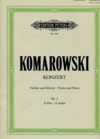 Konzert Nr. 2 A-Dur - okładka książki