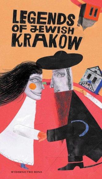 Legendy żydowskiego Krakowa (wersja - okładka książki