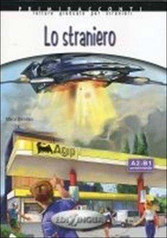 Lo straniero. Poziom A2-B1 (+ CD) - okładka podręcznika