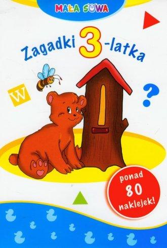Mała sowa. Zagadki 3-latka - okładka podręcznika