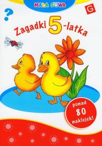 Mała sowa. Zagadki 5-latka - okładka podręcznika