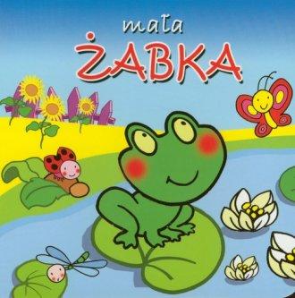 Mała żabka - okładka książki