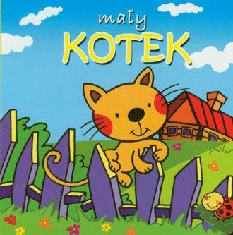 Mały kotek - okładka książki