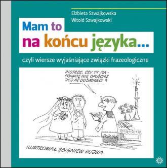 Mam to na końcu języka - okładka podręcznika