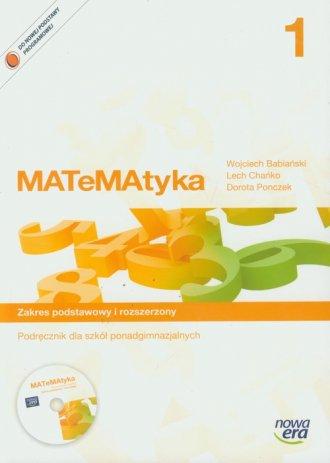 MATeMAtyka 1. Podręcznik. Zakres - okładka podręcznika