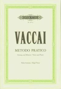 Metodo pratico di canto italiano - okładka książki