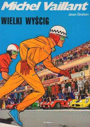 Michel Vaillant. Wielki wyścig - okładka książki