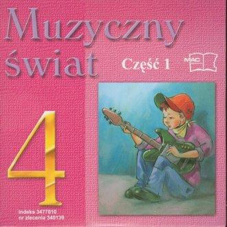 Muzyczny świat. Klasa 4. Szkoła - okładka podręcznika