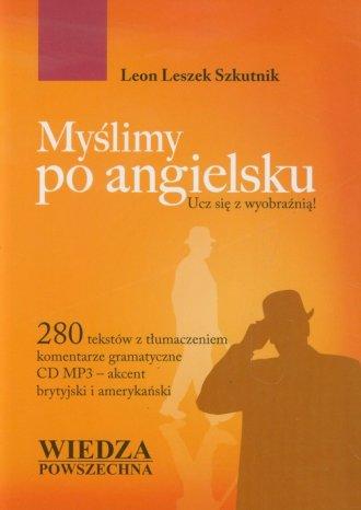 Myślimy po angielsku (+ CD) - okładka podręcznika