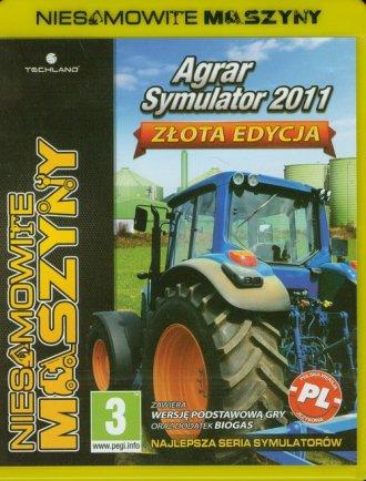 Niesamowite Maszyny. Agrar Symulator - pudełko programu